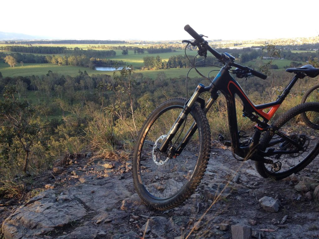 Atherton Bike Hire Atherton Tablelands Mountain Bikes and Bicycle Hire Leasies Lookout on Ridgey Didge